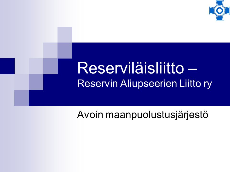 Reserviläisliitto – Reservin Aliupseerien Liitto ry