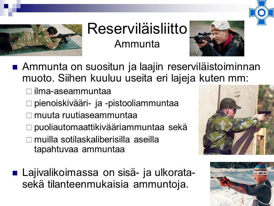 Reserviläisliitto Ammunta