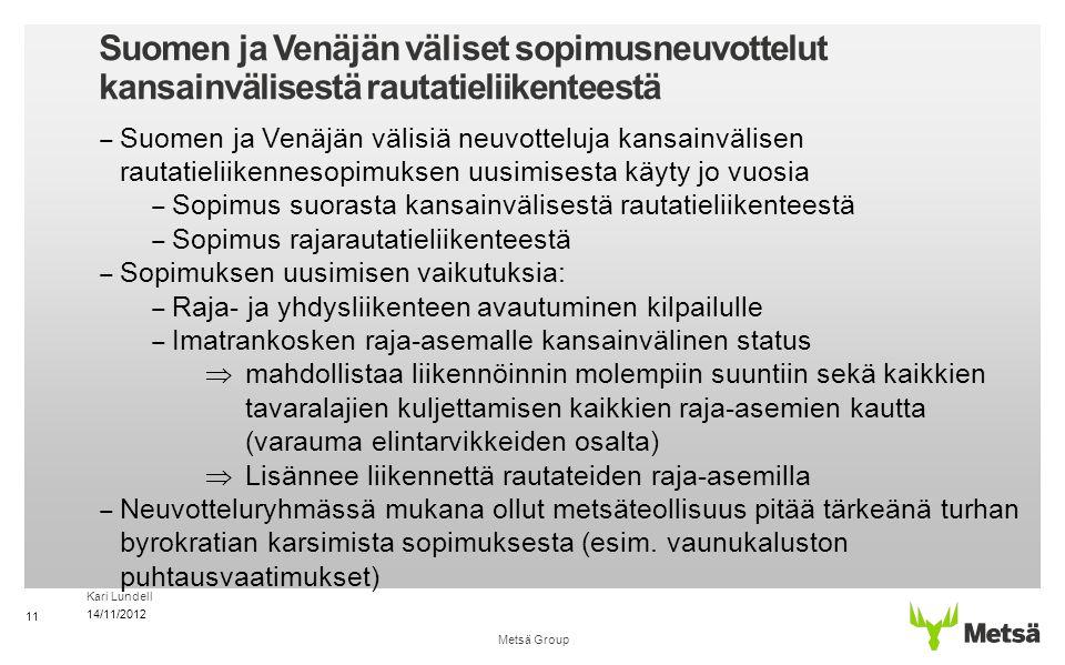 Suomen ja Venäjän väliset sopimusneuvottelut kansainvälisestä rautatieliikenteestä