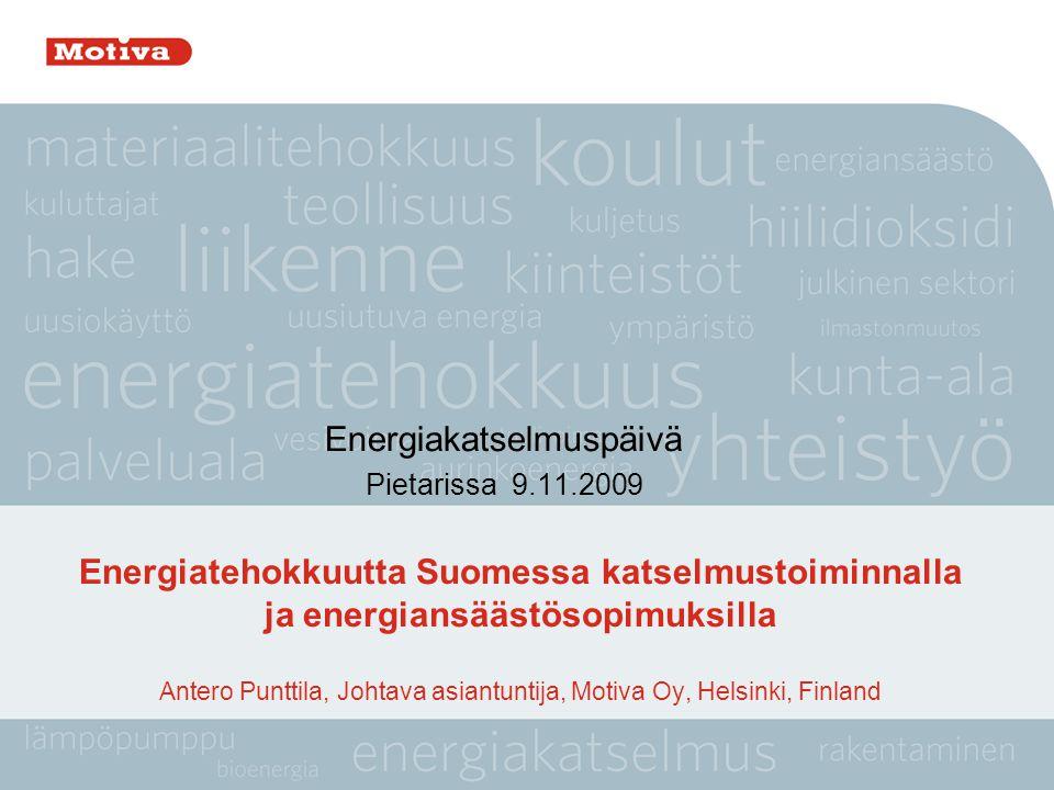 Energiakatselmuspäivä Pietarissa 9.11.2009