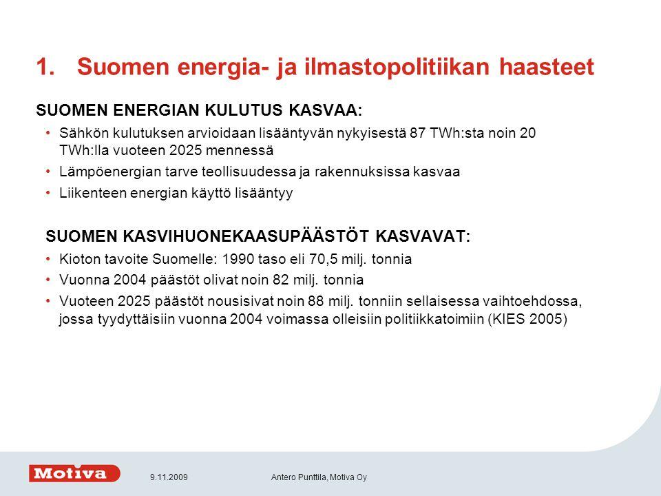Suomen energia- ja ilmastopolitiikan haasteet