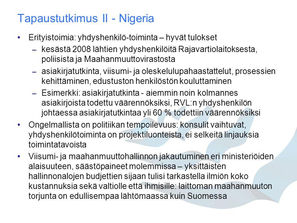 Tapaustutkimus II - Nigeria