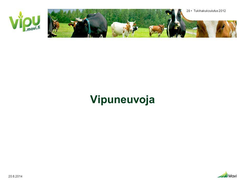 Tukihakukoulutus 2012 Vipuneuvoja 2.4.2017
