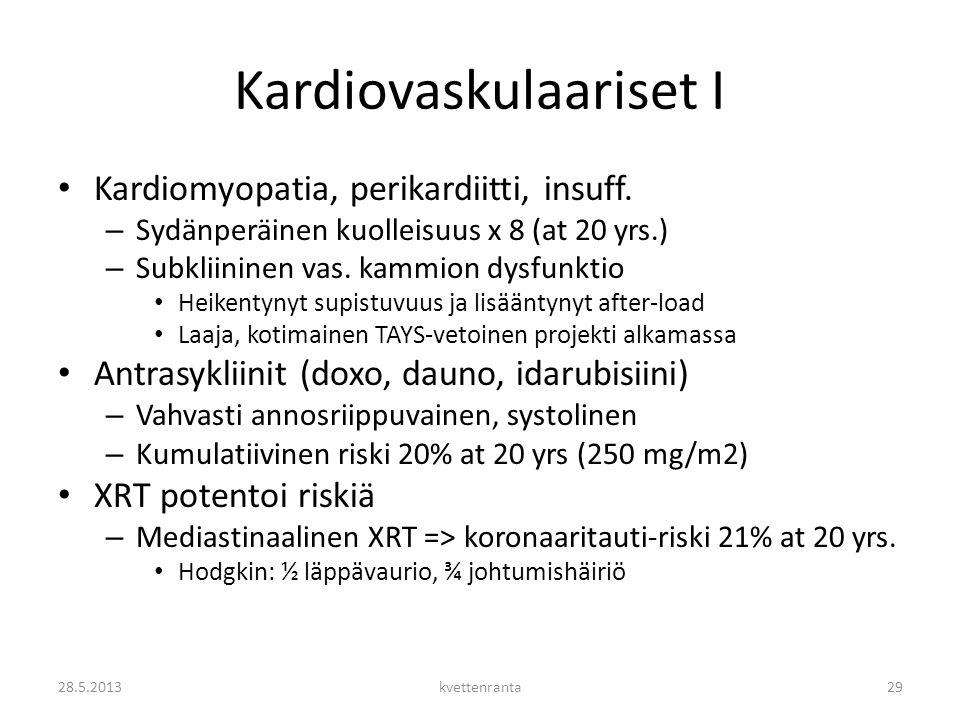 Kardiovaskulaariset I