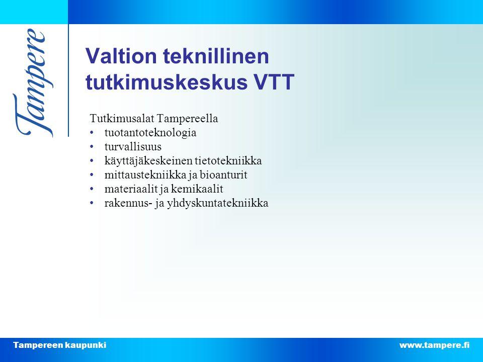 Valtion teknillinen tutkimuskeskus VTT