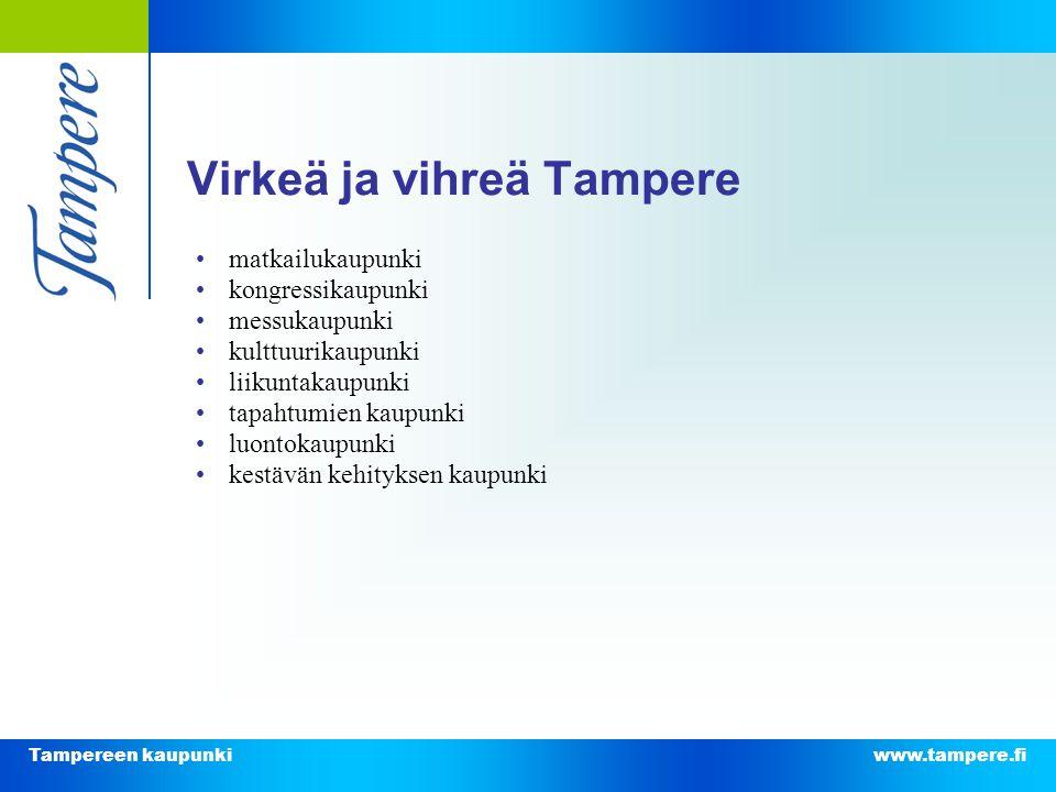 Virkeä ja vihreä Tampere