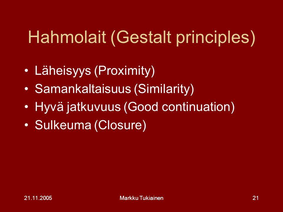 Hahmolait (Gestalt principles)