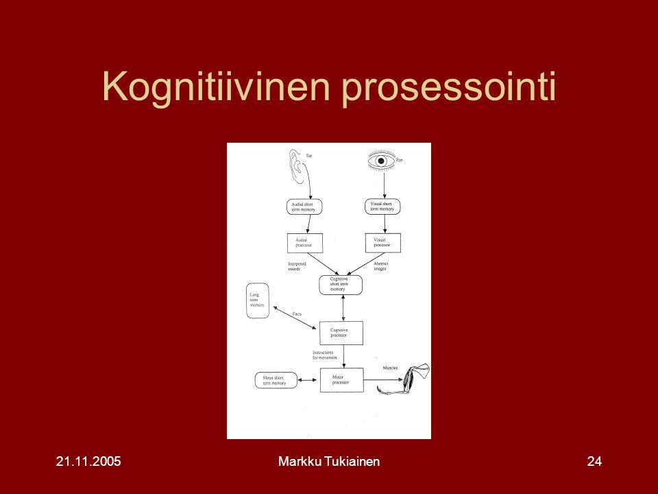 Kognitiivinen prosessointi