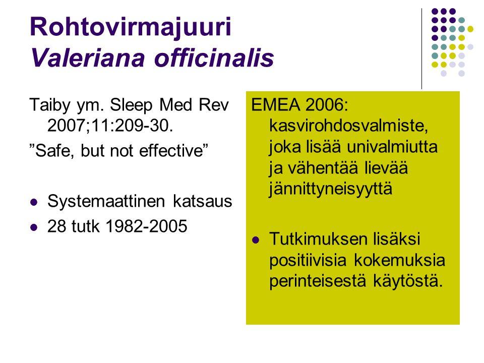 Rohtovirmajuuri Valeriana officinalis