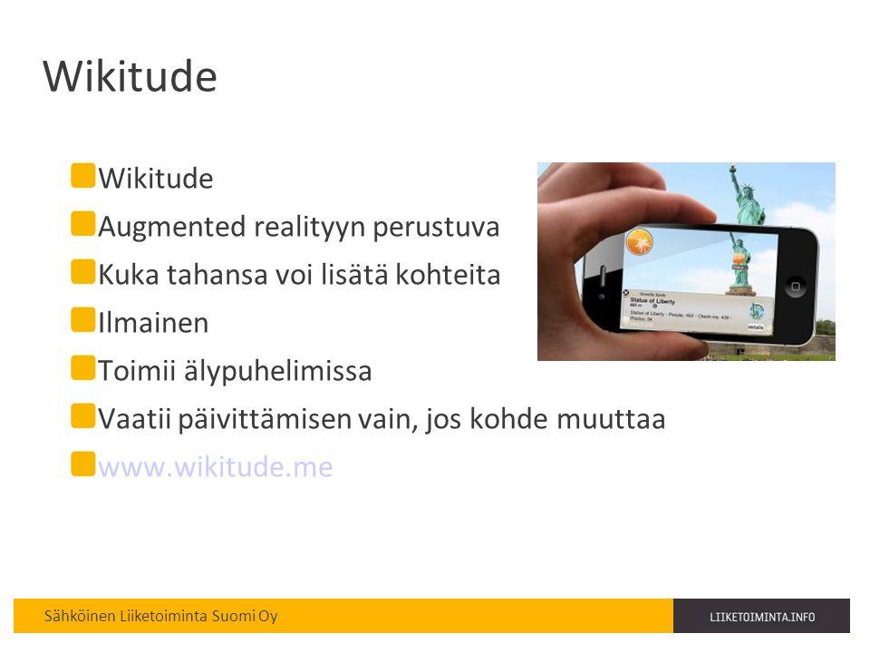 Wikitude Wikitude Augmented realityyn perustuva