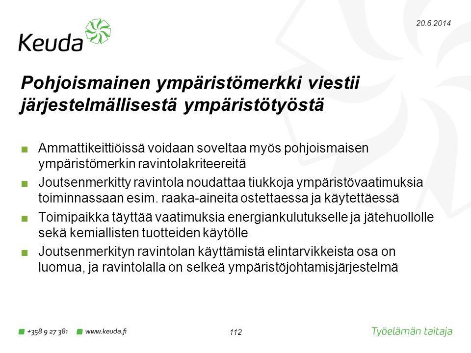 2.4.2017 Pohjoismainen ympäristömerkki viestii järjestelmällisestä ympäristötyöstä.