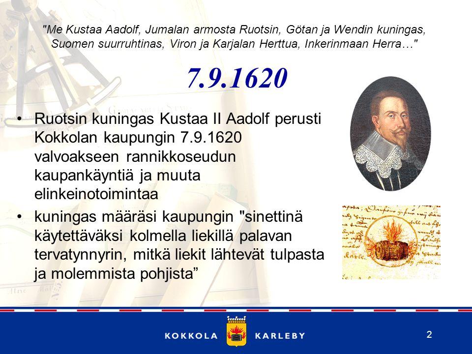 Me Kustaa Aadolf, Jumalan armosta Ruotsin, Götan ja Wendin kuningas, Suomen suurruhtinas, Viron ja Karjalan Herttua, Inkerinmaan Herra…