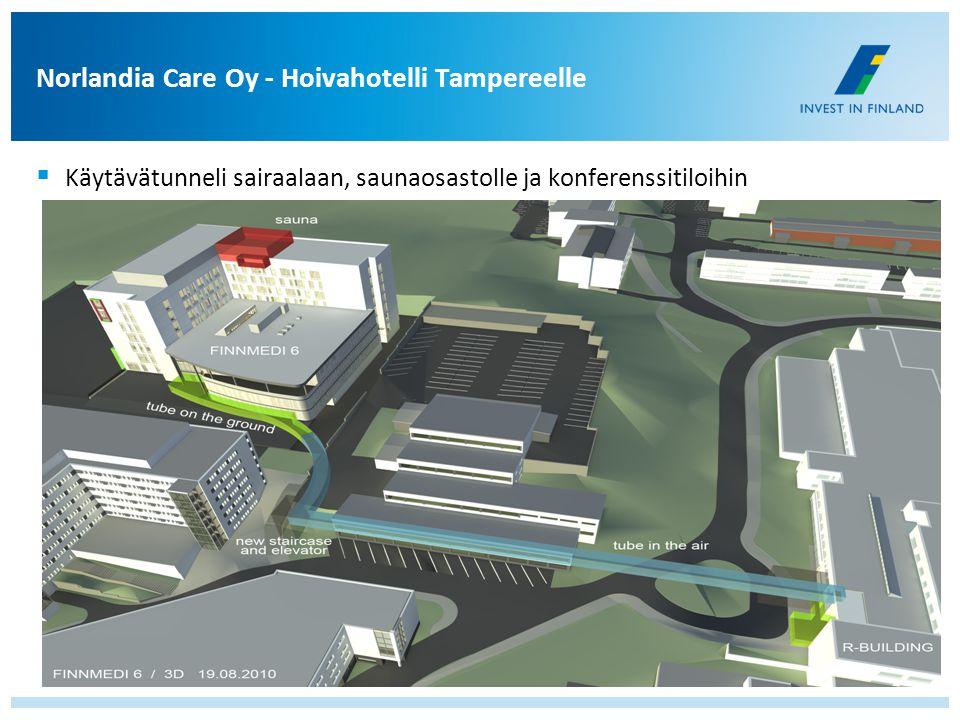Norlandia Care Oy - Hoivahotelli Tampereelle