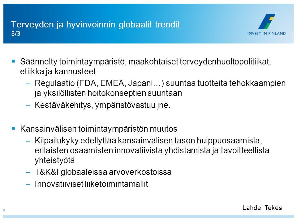 Terveyden ja hyvinvoinnin globaalit trendit 3/3