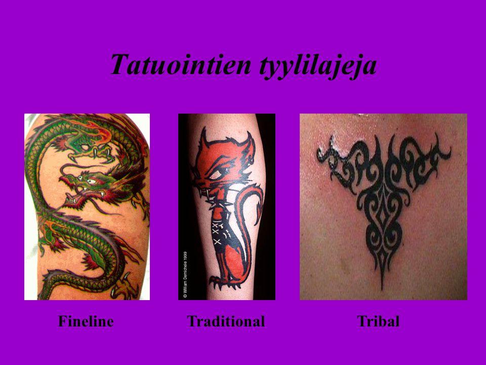 Tatuointien tyylilajeja
