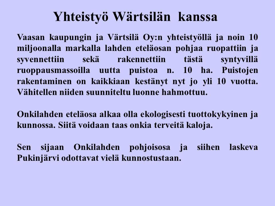 Yhteistyö Wärtsilän kanssa