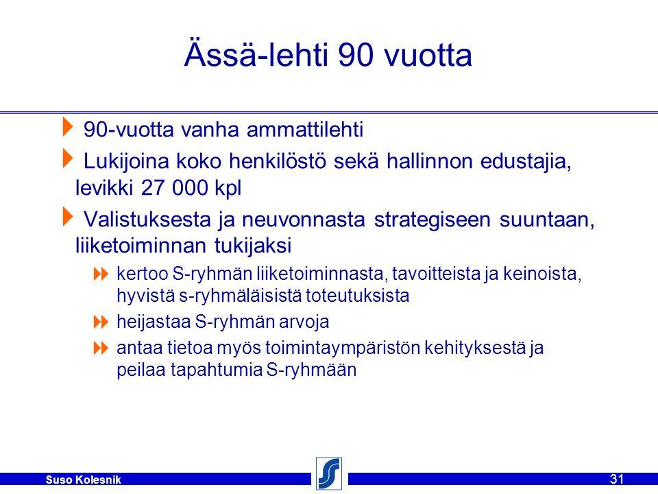 Ässä-lehti 90 vuotta 90-vuotta vanha ammattilehti