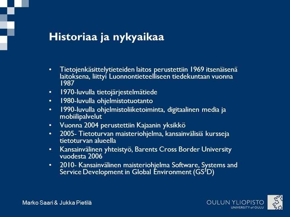 Historiaa ja nykyaikaa