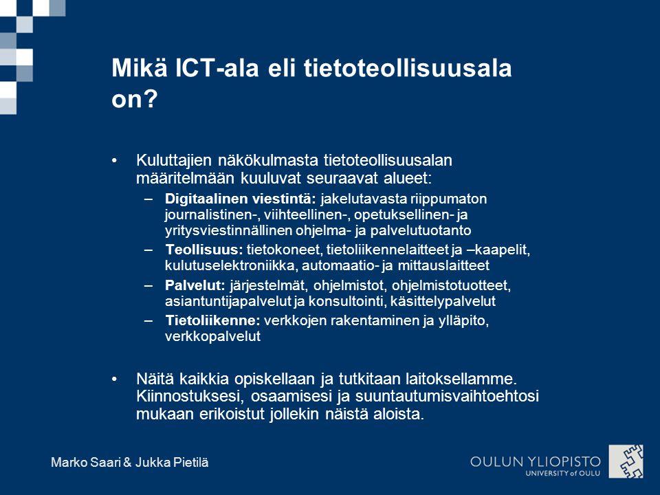 Mikä ICT-ala eli tietoteollisuusala on