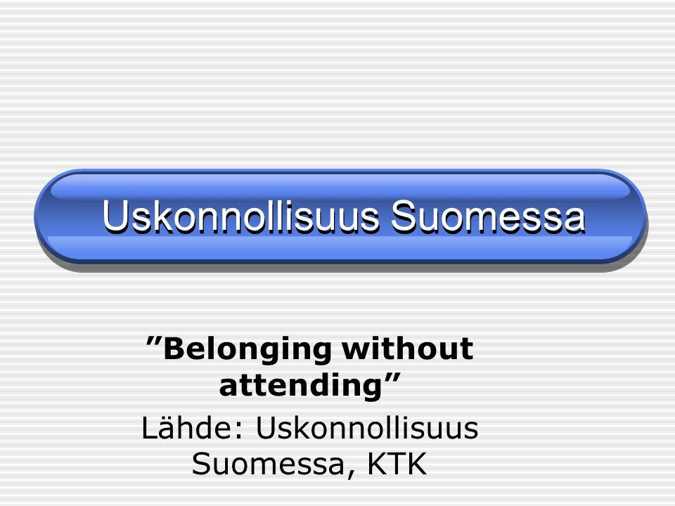 Uskonnollisuus Suomessa
