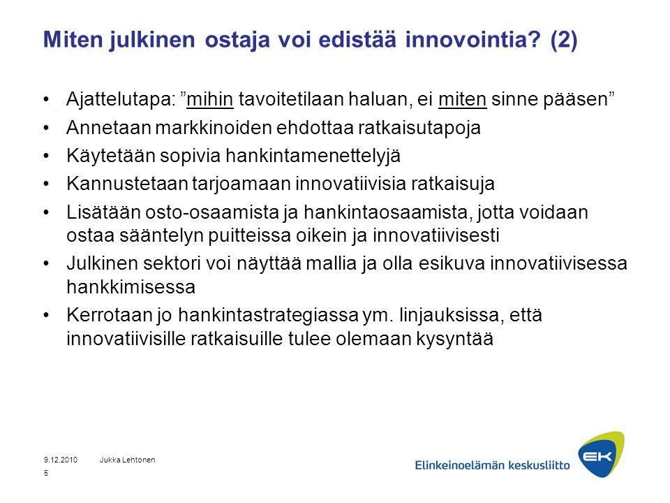 Miten julkinen ostaja voi edistää innovointia (2)