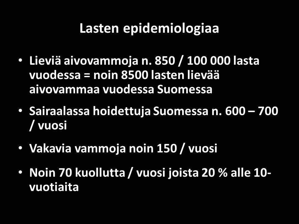 Lasten epidemiologiaa