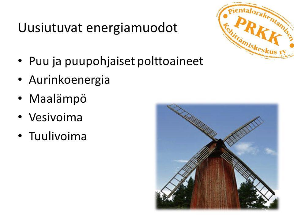 Uusiutuvat energiamuodot