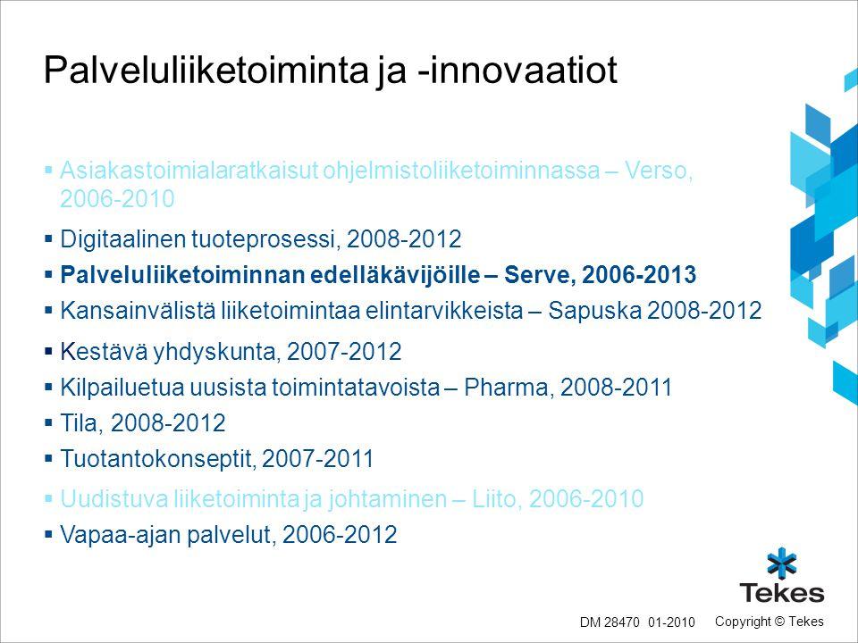 Palveluliiketoiminta ja -innovaatiot
