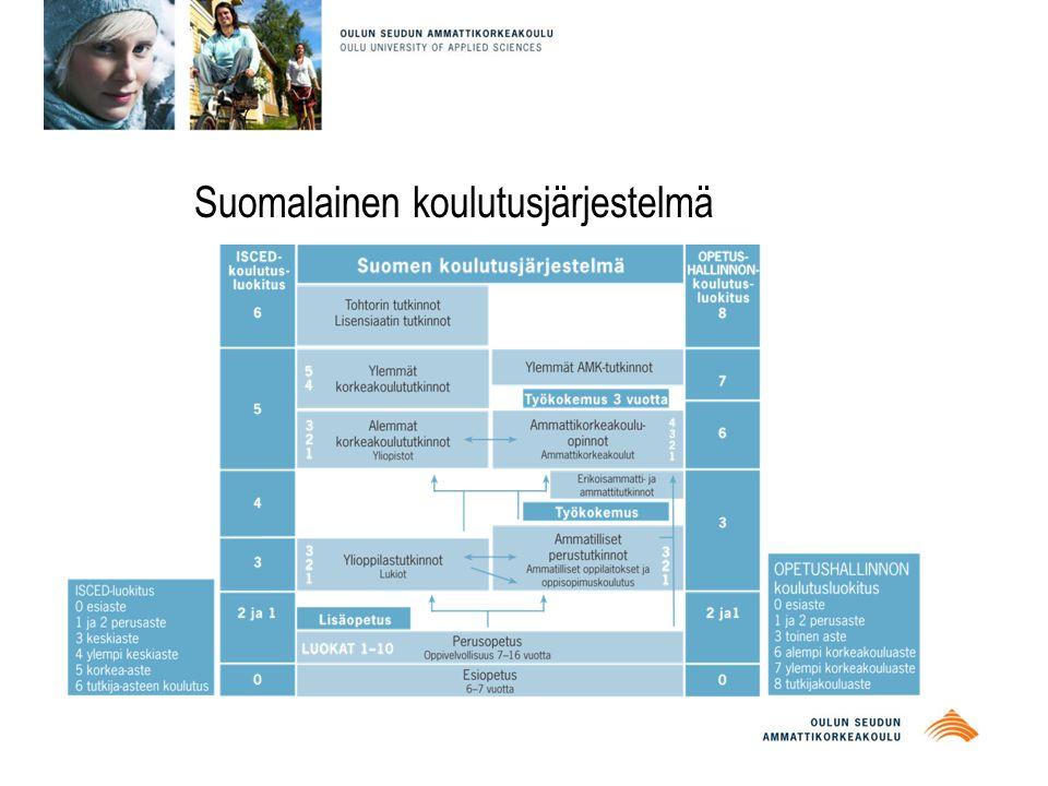 Suomalainen koulutusjärjestelmä