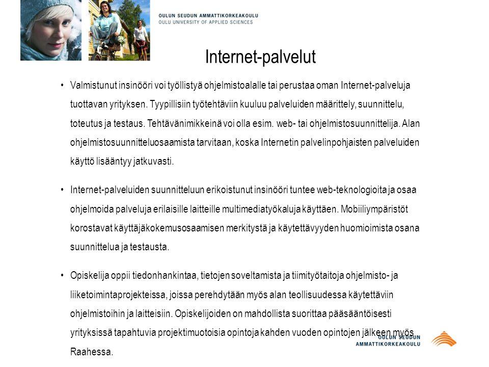 Internet-palvelut