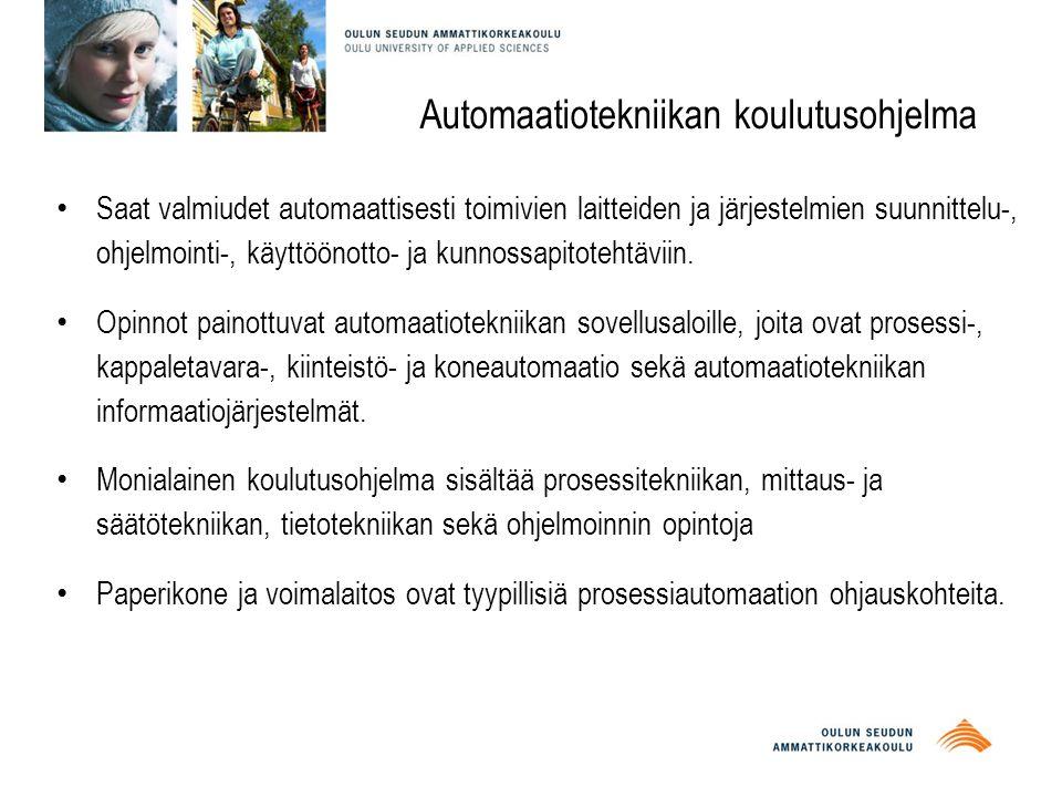 Automaatiotekniikan koulutusohjelma