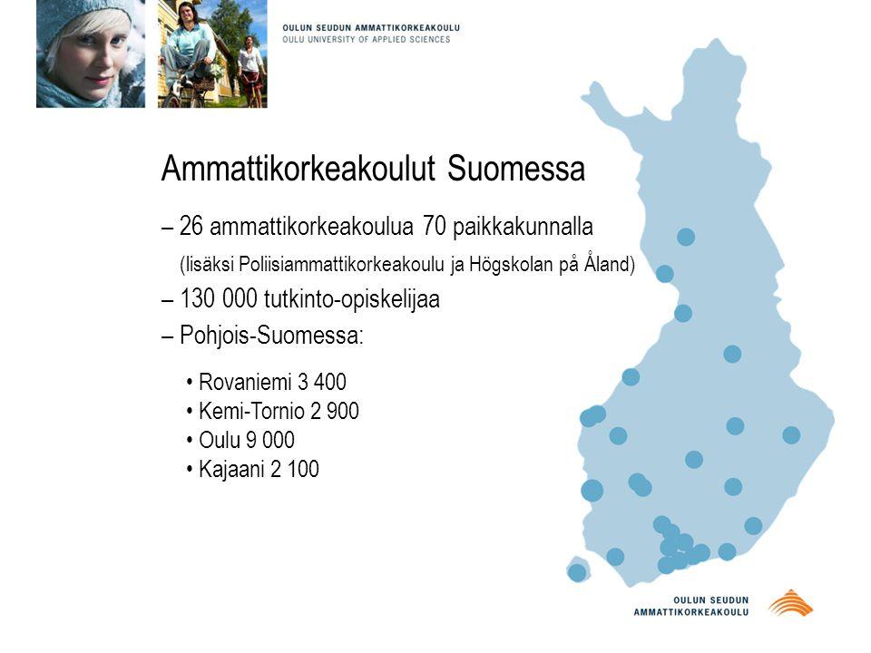 Ammattikorkeakoulut Suomessa