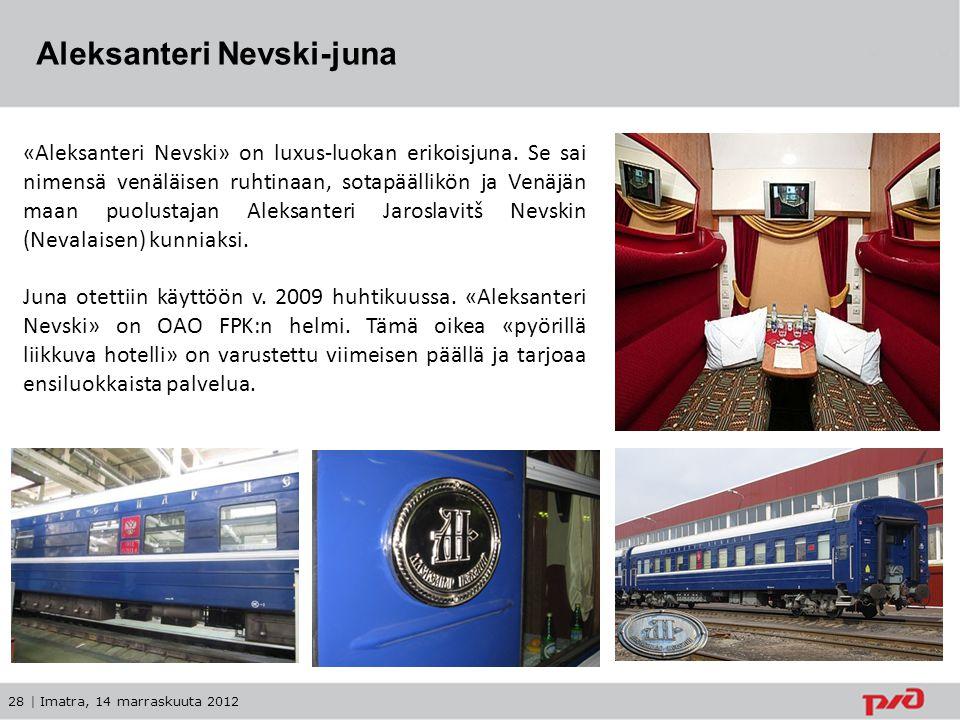 Aleksanteri Nevski-juna