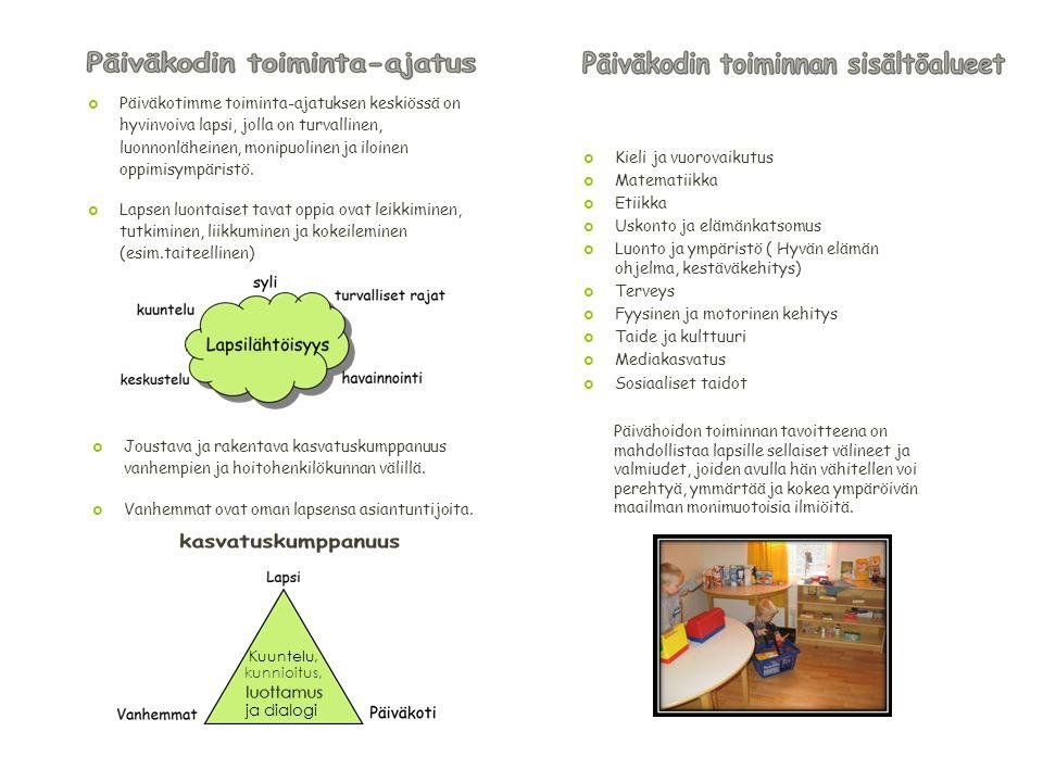 Kieli ja vuorovaikutus Matematiikka Etiikka Uskonto ja elämänkatsomus