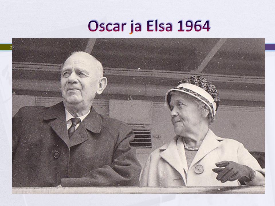 Oscar ja Elsa 1964