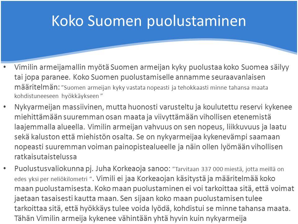 Koko Suomen puolustaminen