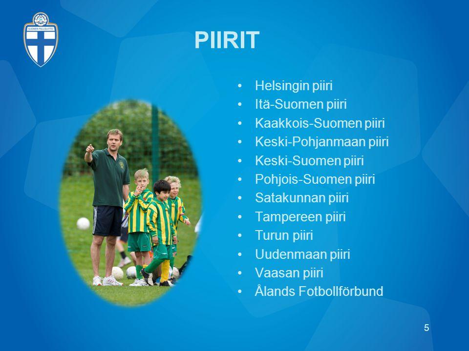 PIIRIT Helsingin piiri Itä-Suomen piiri Kaakkois-Suomen piiri