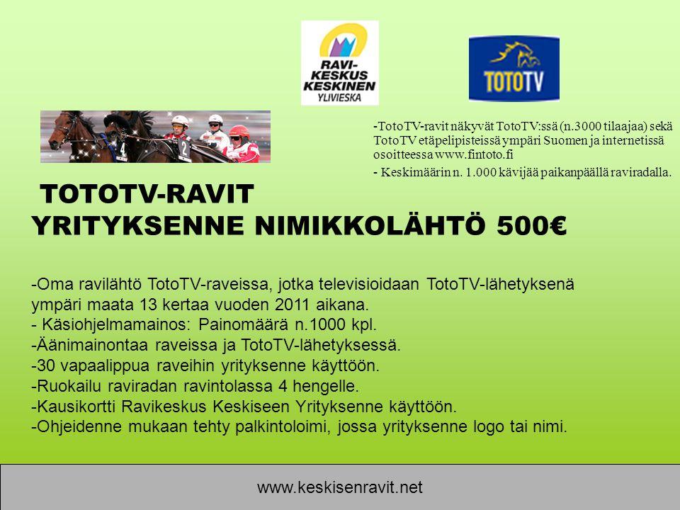 YRITYKSENNE NIMIKKOLÄHTÖ 500€
