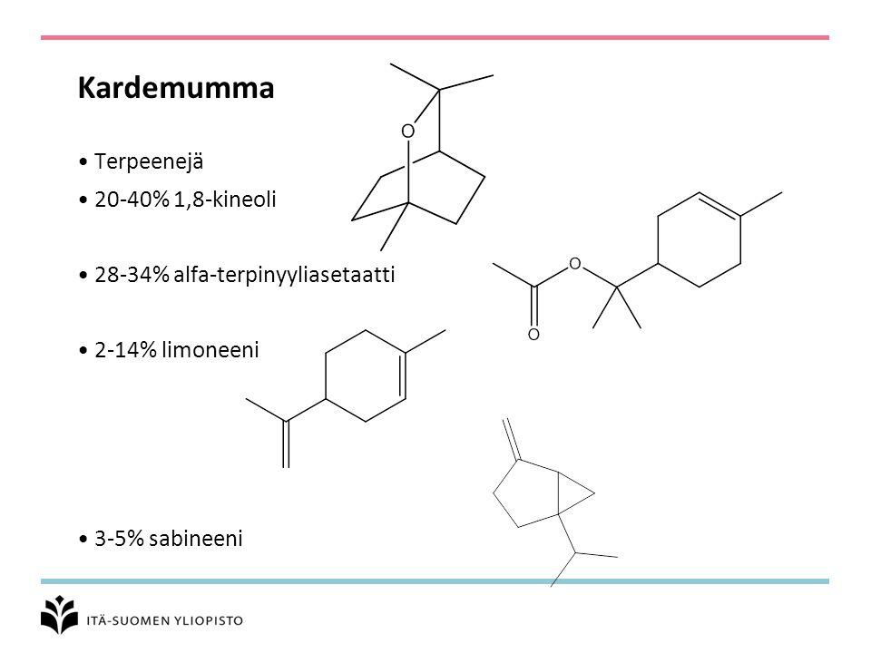 Kardemumma Terpeenejä 20-40% 1,8-kineoli