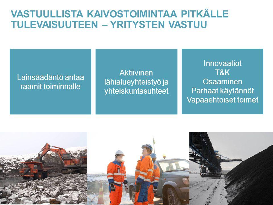 Vastuullista kaivostoimintaa pitkälle tulevaisuuteen – yritysten vastuu