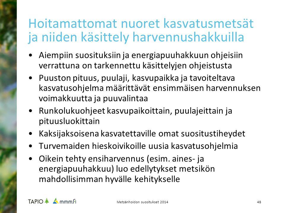 Metsänhoidon suositukset 2014