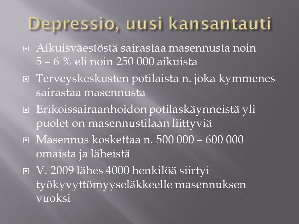 Depressio, uusi kansantauti