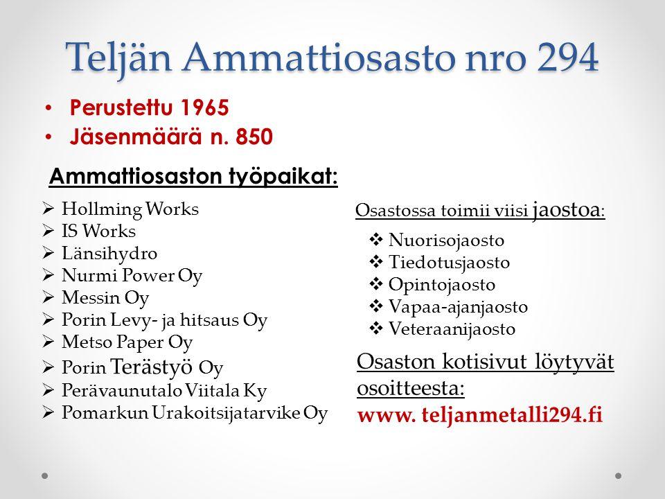 Teljän Ammattiosasto nro 294