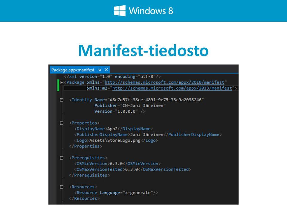 Manifest-tiedosto