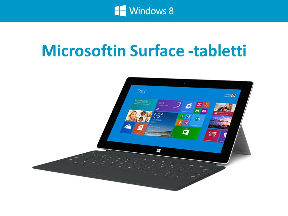 Microsoftin Surface -tabletti