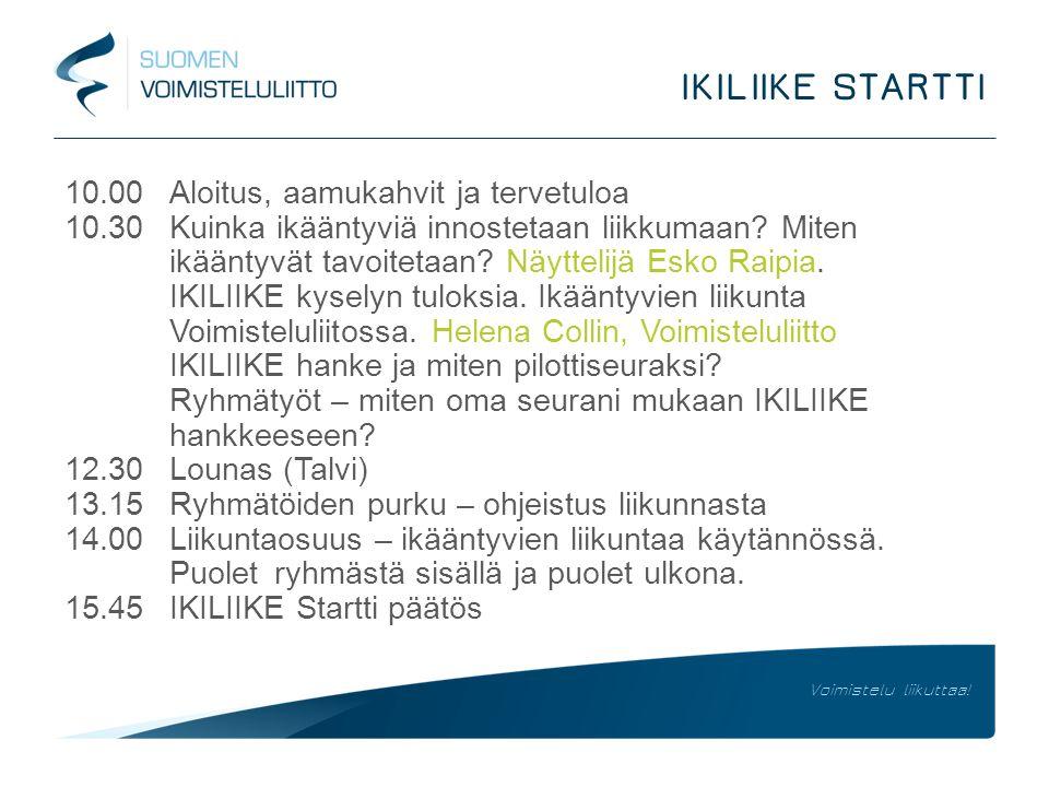 IKILIIKE STARTTI