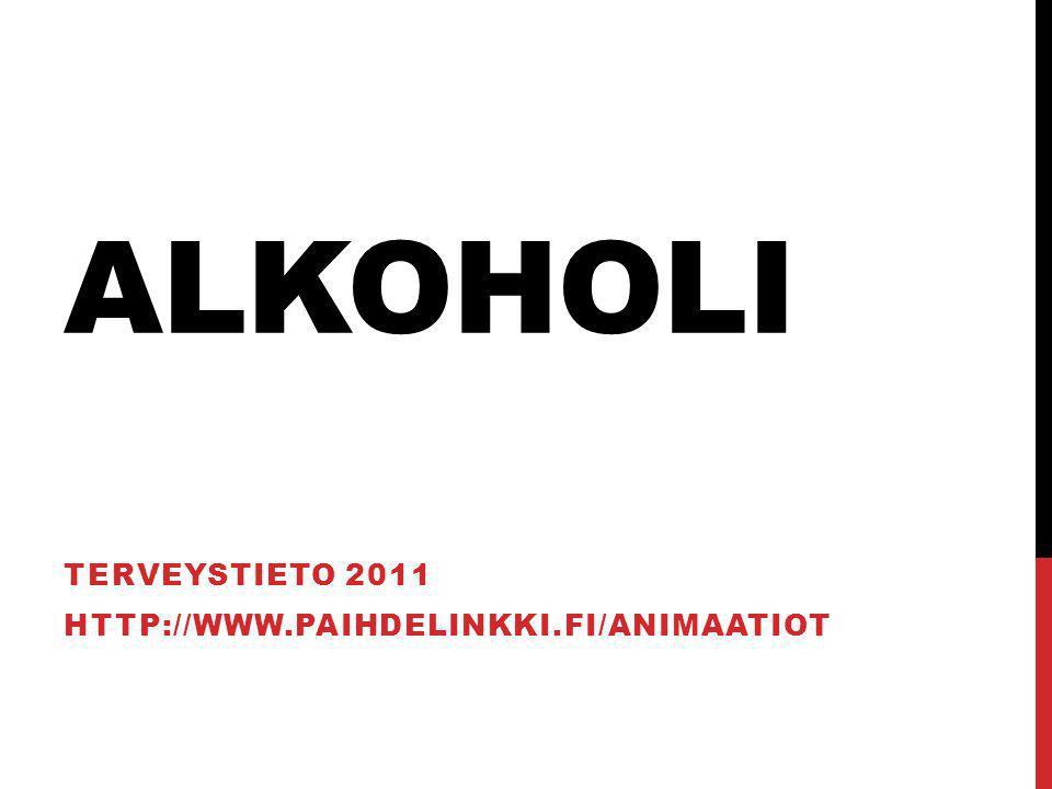 Terveystieto 2011 http://www.paihdelinkki.fi/animaatiot