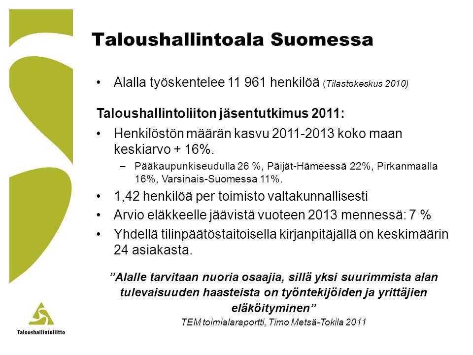 Taloushallintoala Suomessa