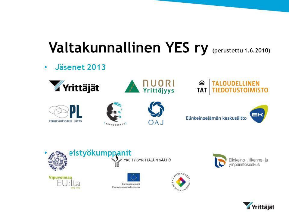 Valtakunnallinen YES ry (perustettu 1.6.2010)