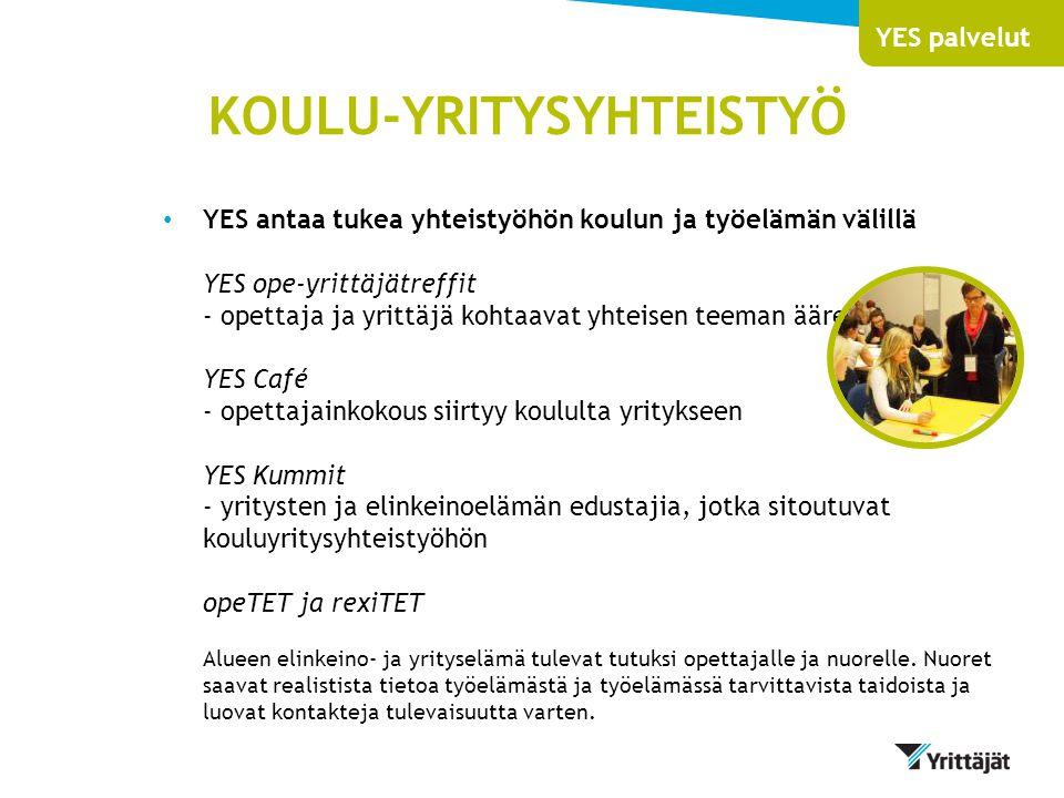 KOULU-YRITYSYHTEISTYÖ